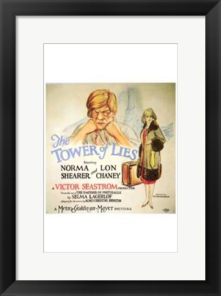 Framed Tower of Lies Print