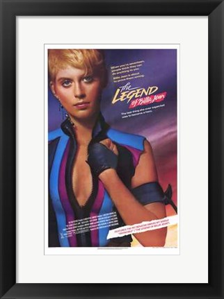 Framed Legend of Billie Jean Film Print