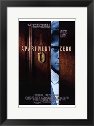 Framed Apartment Zero Print