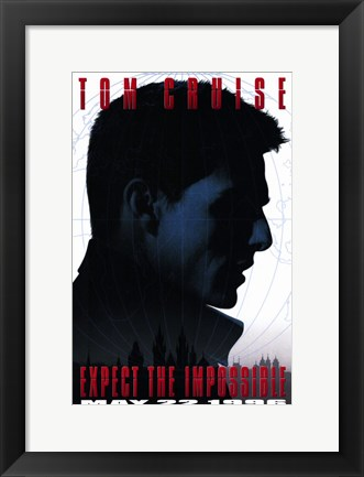 Framed Mission: Impossible - Tom Cruise Print