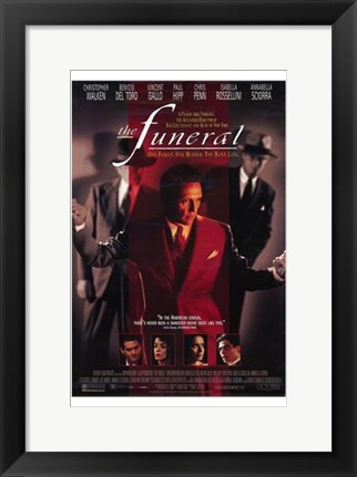Framed Funeral The Movie Print