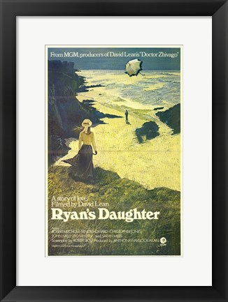 Framed Ryan's Daughter Love Story Print