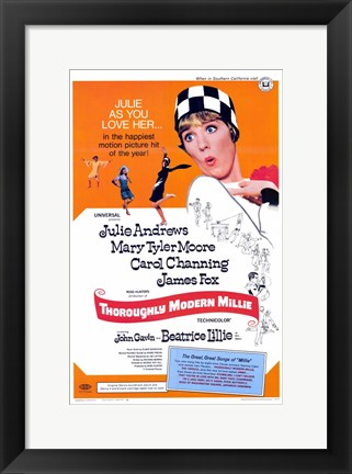 Framed Thoroughly Modern Millie (movie poster) Print