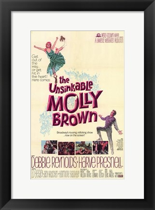 Framed Unsinkable Molly Brown (movie poster) Print