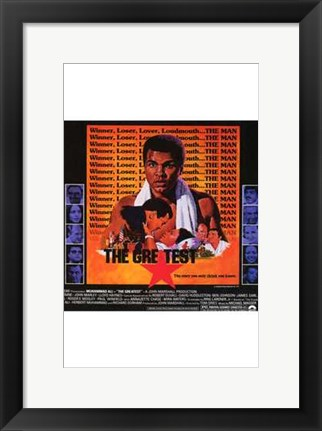 Framed Greatest Muhammad Ali Print