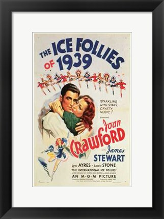 Framed Ice Follies of 1939 Print
