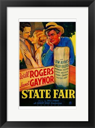 Framed State Fair Print