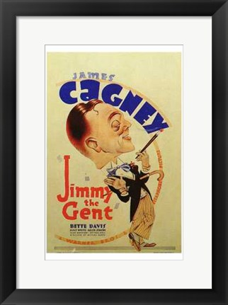 Framed Jimmy the Gent Print