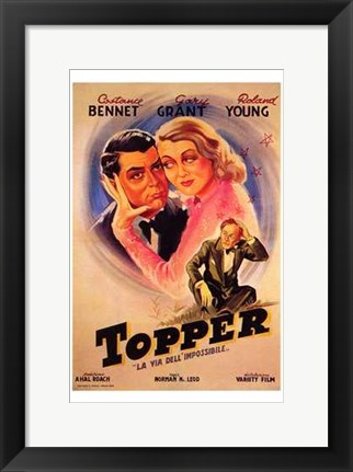 Framed Topper - couple hugging Print