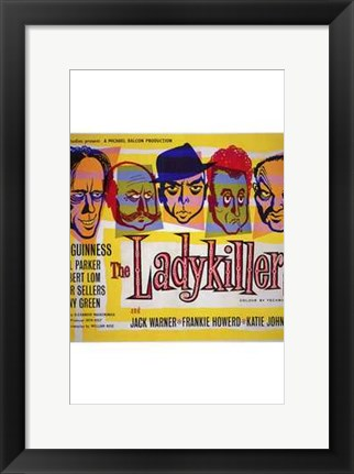 Framed Ladykillers - square Print