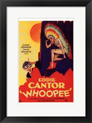 Framed Whoopee - movie poster Print