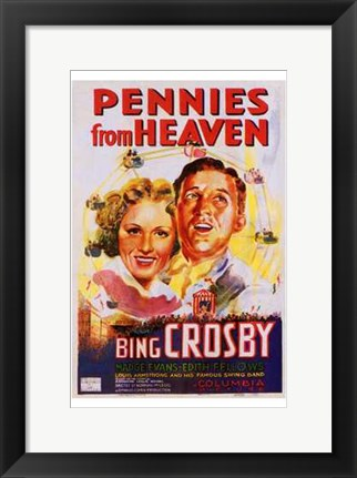 Framed Pennies from Heaven Print