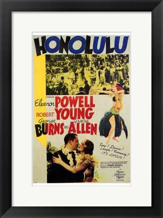 Framed Honolulu Print