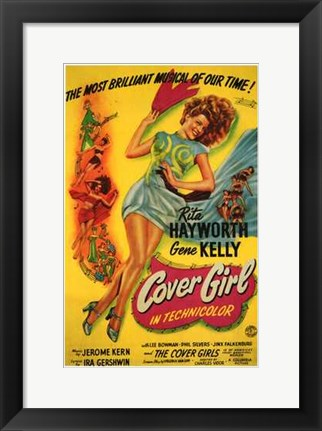 Framed Cover Girl Print