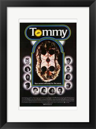Framed Tommy (movie poster) Print