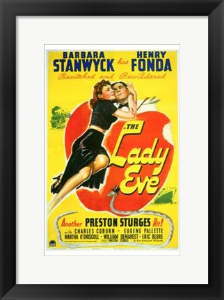 Framed Lady Eve Print