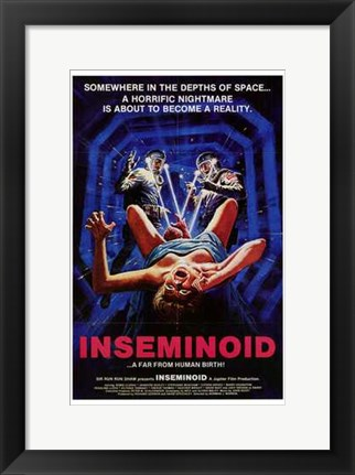 Framed Inseminoid Print