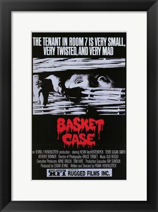 Framed Basket Case Print