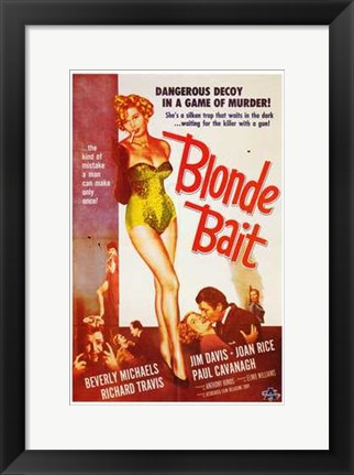 Framed Blonde Bait Print