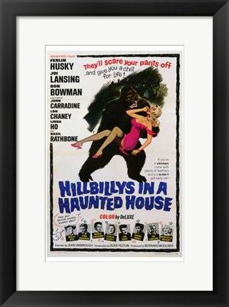 Framed Hillbillys in a Haunted House Print