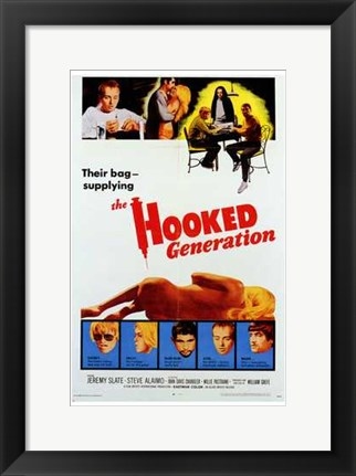 Framed Hooked Generation Print