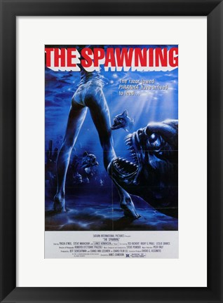 Framed Piranha 2: the Spawning Print