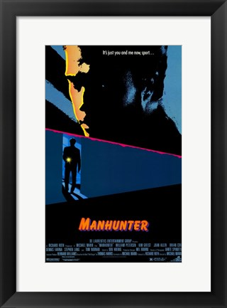 Framed Manhunter Print