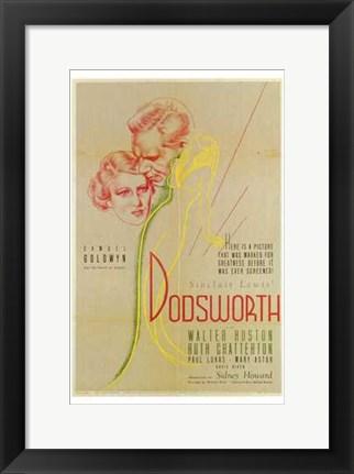Framed Dodsworth Print
