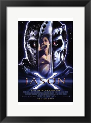 Framed Jason X Print