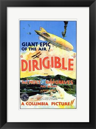 Framed Dirigible Print