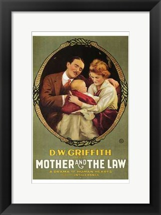 Framed Mother and the Law Print