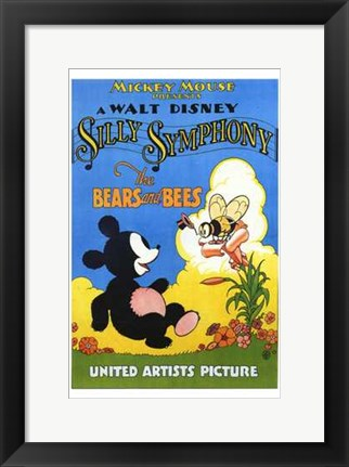 Framed Bears and the Bees Print