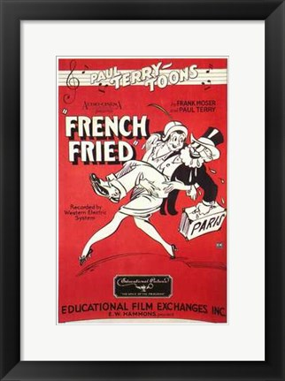 Framed French Fried Print