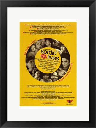 Framed Sordid Lives Print