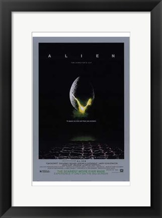 Framed Alien: the Director's Cut Print
