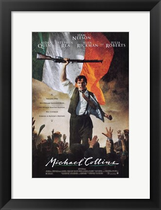 Framed Michael Collins Print