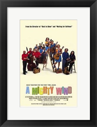 Framed Mighty Wind Print