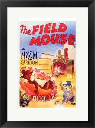Framed Field Mouse Print