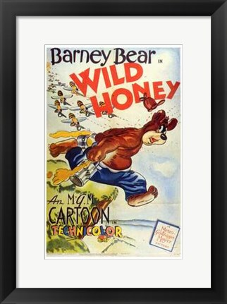 Framed Wild Honey Print