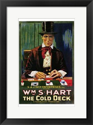 Framed Cold Deck Print
