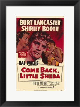 Framed Come Back Little Sheba Print