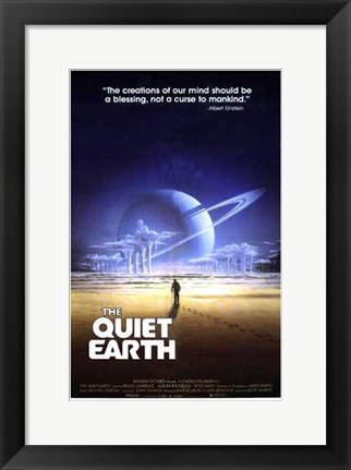 Framed Quiet Earth Print