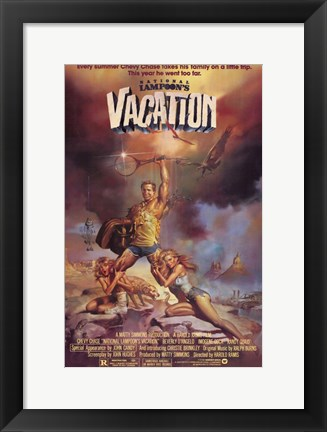 Framed National Lampoon's Vacation Film Print