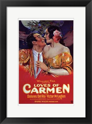 Framed Loves of Carmen Print