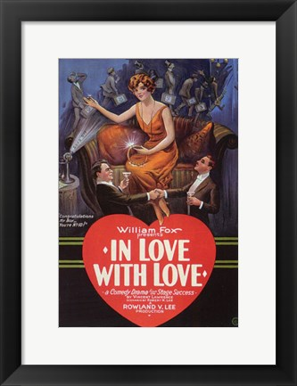 Framed in Love with Love Print