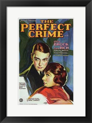 Framed Perfect Crime Print