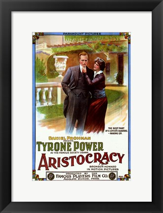 Framed Aristocracy Print
