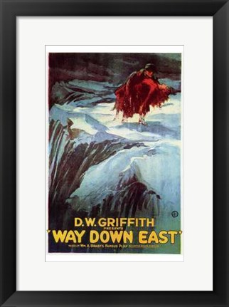 Framed Way Down East Print