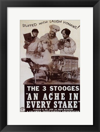 Framed Ache in Every Stake Print
