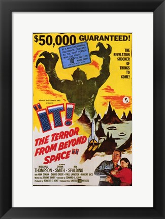 Framed It! the Terror from Beyond Space Print